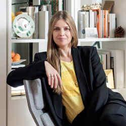 Lyn Harris at home in northwest London