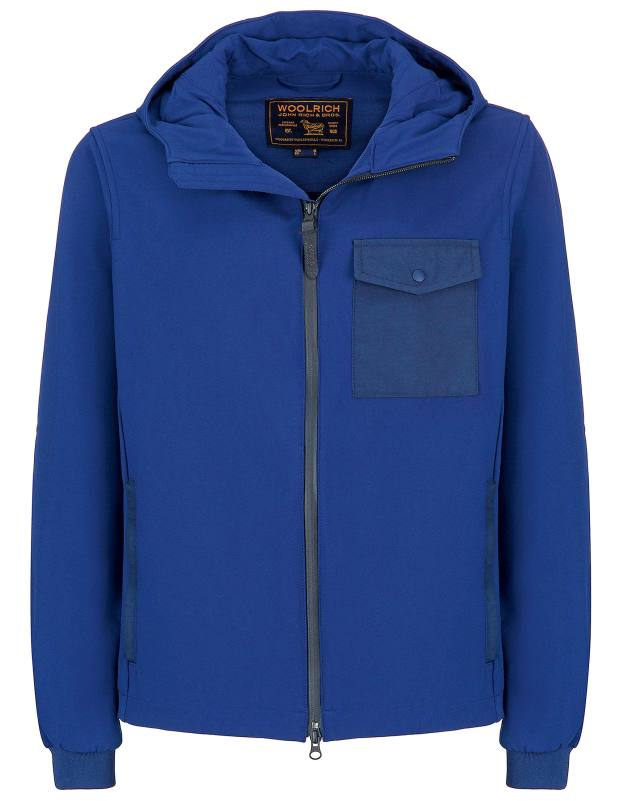 Woolrich nylon Soft Shell Rudder jacket, £295