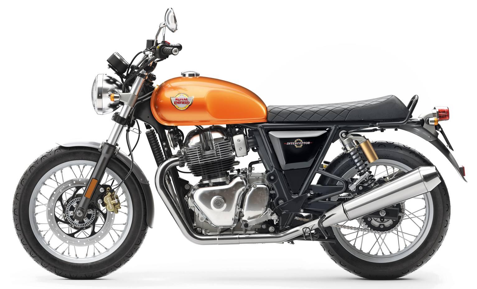 Royal Enfield's new Interceptor street bike, £5,995
