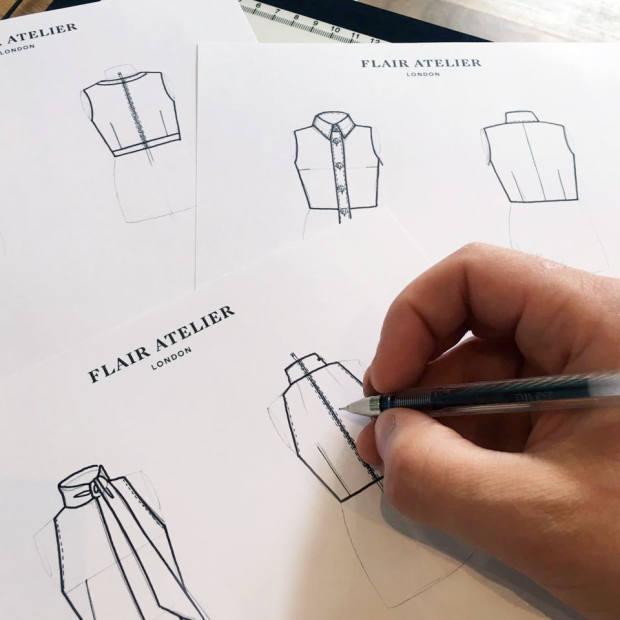 Dean Thomas' designs for Flair Atelier