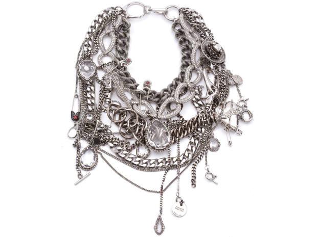 Alexander McQueen necklace, £6,390