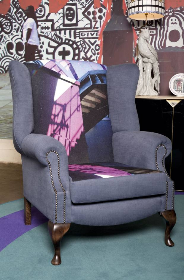 Pitfield London and Barbara Chandler Collaborative wingback armchair, £950