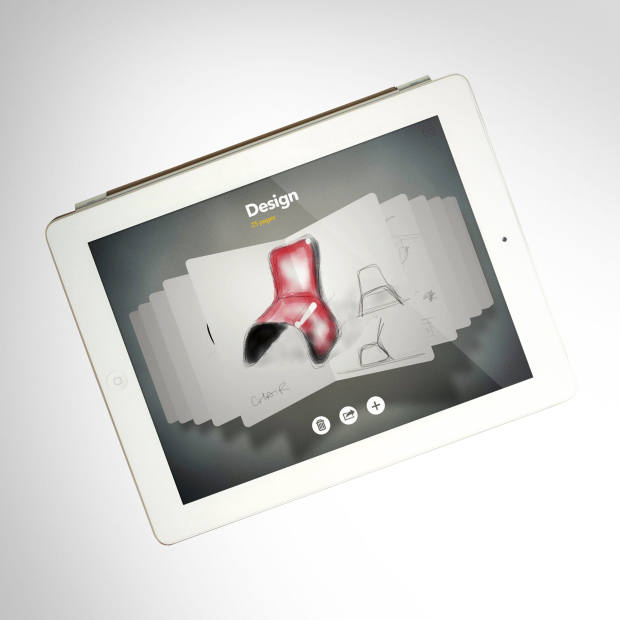 The Paper app by FiftyThree