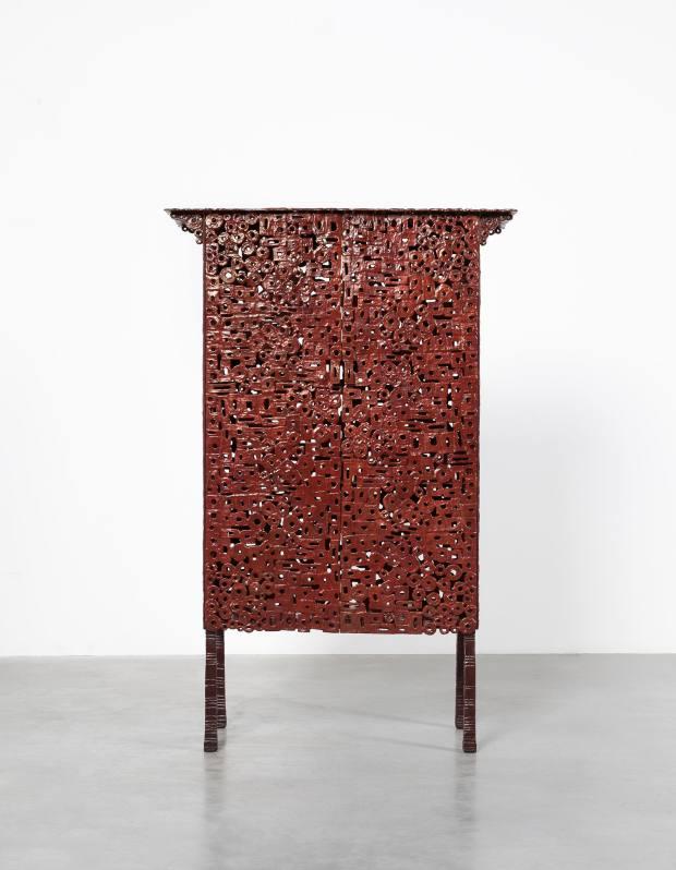 Bronze Klimt cabinet, from €145,000
