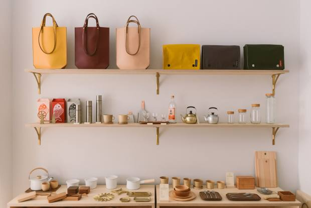 Native & Co's elegant artisanal wares come from Japan or Taiwan