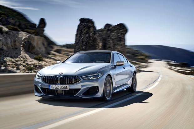 The new BMW 8 Series Gran Coupé
