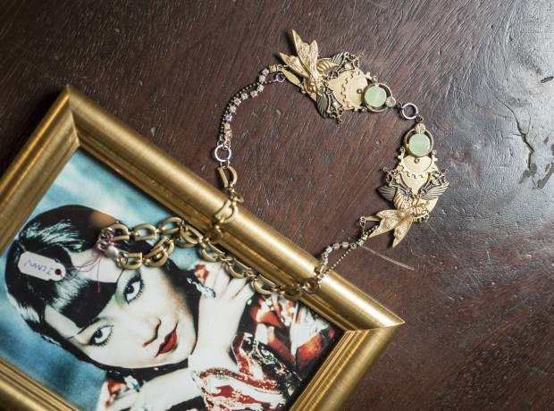 La Fiancée du Facteur necklace (from about £46) inspired by Anna May Wong in Island of Lost Men