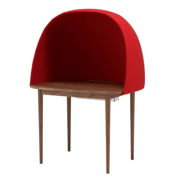 GamFratesi for Ligne Roset walnut and wool Rewrite desk, £1,733
