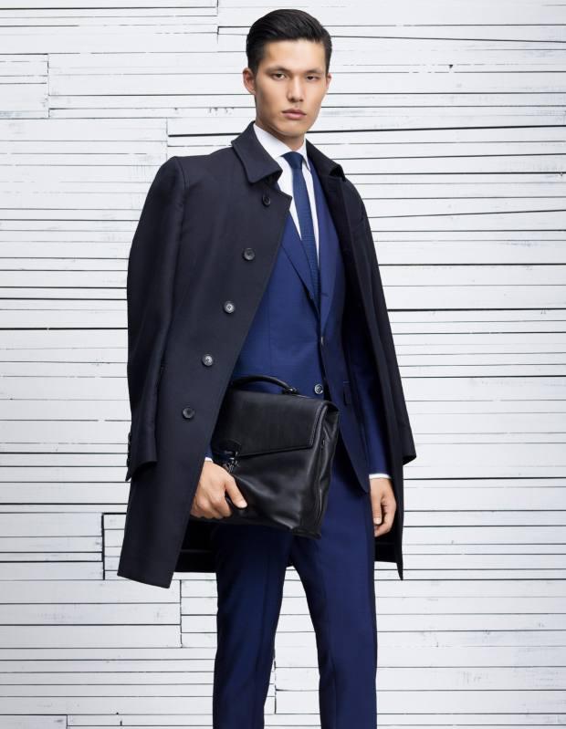 Boss cotton coat, £380