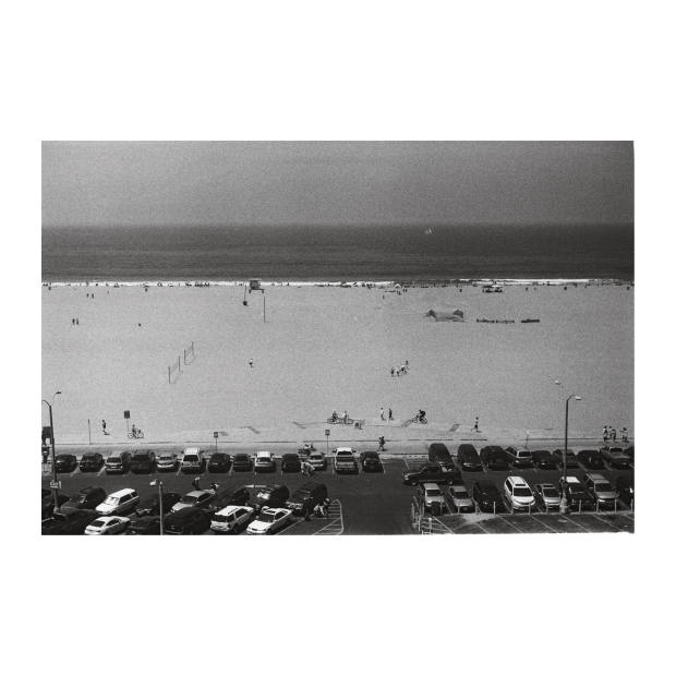 Santa Monica beach. Taken by the author using a Leica IIIa