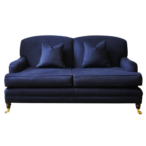 Parker & Farr Jefferson sofa, created in collaboration with Norton & Sons and upholstered in a Halnsworth & Sons wool, £3,260