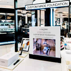 Le Teint Particulier had its UK launch at Harrods