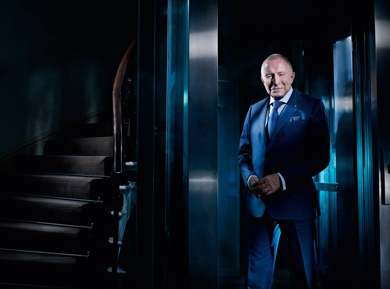 Laurence Graff, chairman of Graff Diamonds, at the firm's London headquarters