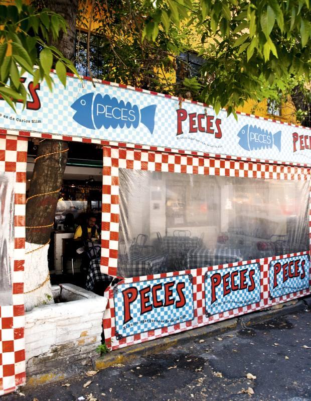 Seafood restaurant Peces.