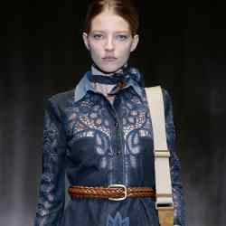 Gucci embroidered denim dress, £2,880