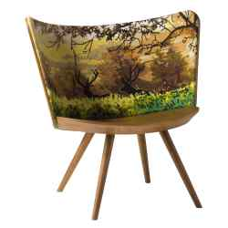 Cappellini ash and wool chair, £7,300