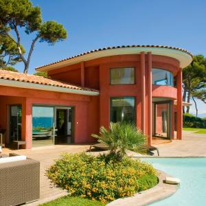 A five-bed waterfront villa on Cap d'Antibes, €9.8m through Knight Frank