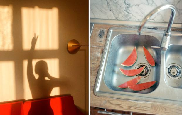 """From left: Peter Langer, Kurfürstenstrasse, Berlin: """"At home in the morning when I wake up, I reflect on the day ahead and aspire to use it to keep a wide open heart and mind. At the end of the day before going to sleep, I think over what I've done."""" Federico Ciamei, Milan: """"Home is wherever Iamwith the people Icare about."""""""