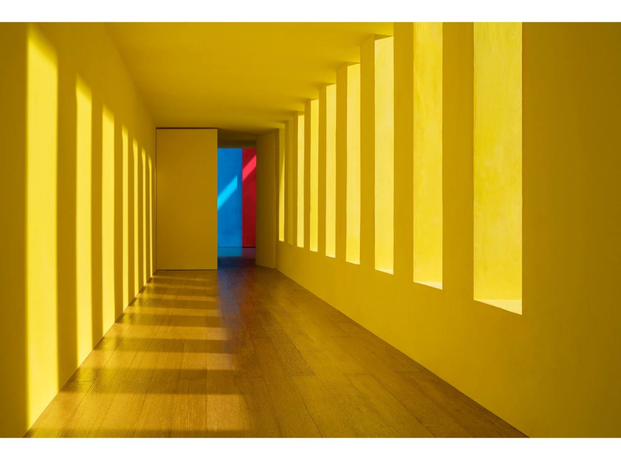 Yellow Passage, by James Casebere, $50,000