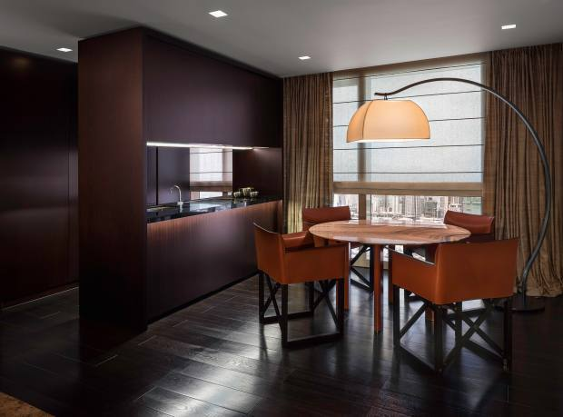 A dining room at Century Spire in Manila, apartments from $220,000