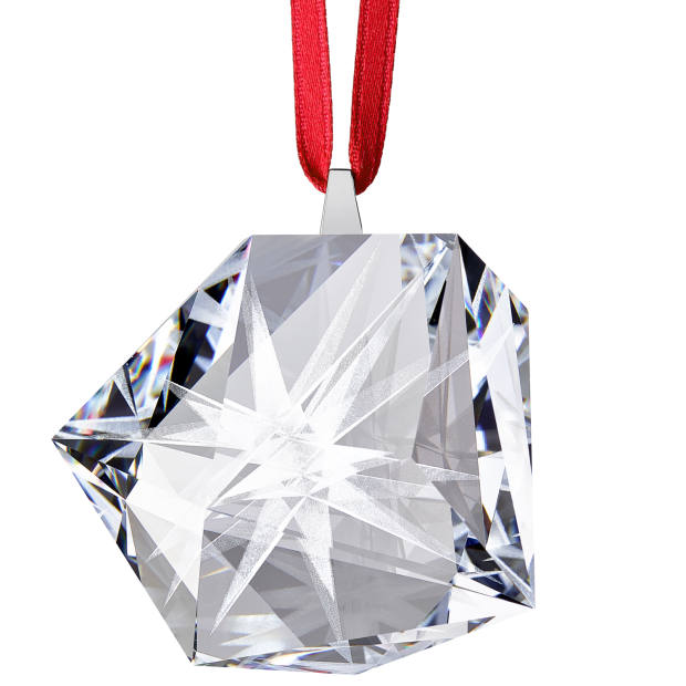 Daniel Libeskind for Atelier Swarovski Home crystal Frosted Star ornament, £59