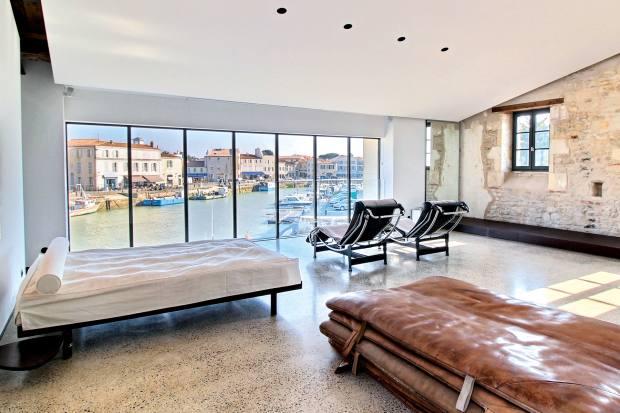 A four-bedroom loftin Saint-Martin-de-Ré overlooking the harbour, €3.6m through Barnes International Realty