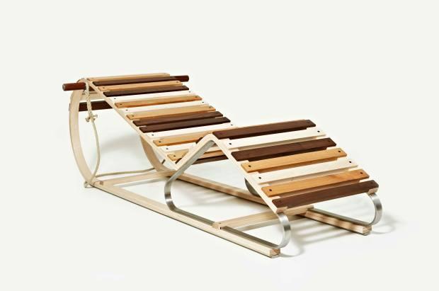 Thomas Lemut Sledge-Deck Chair, £18,000, from Gallery Fumi