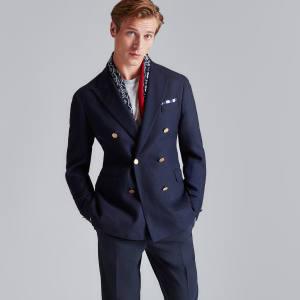 Hackett wool blazer, £475