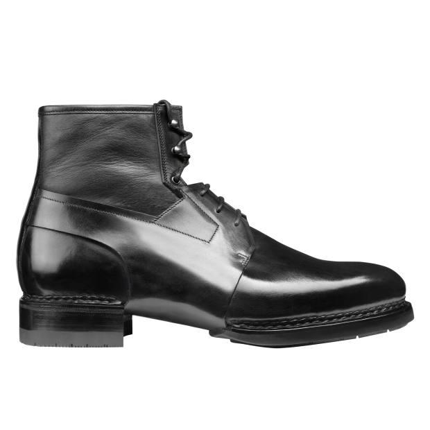 Santoni calfskin and nappa leather boots, €1,450