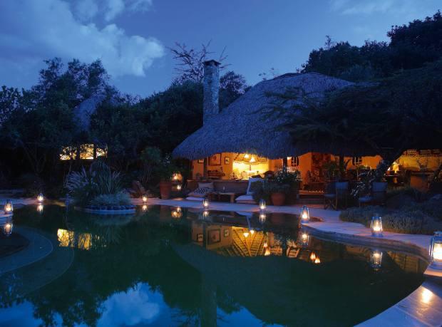 The Enasoit pool house