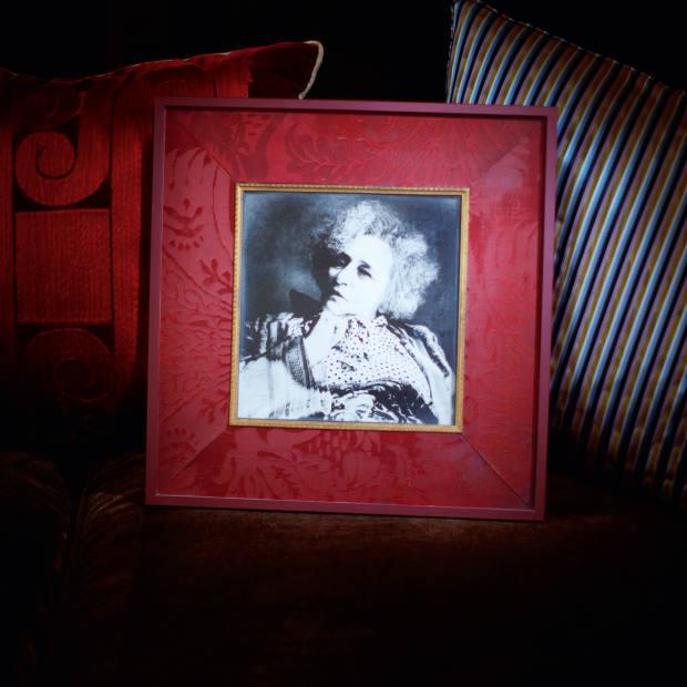 Grange's photograph of Colette by Irving Penn