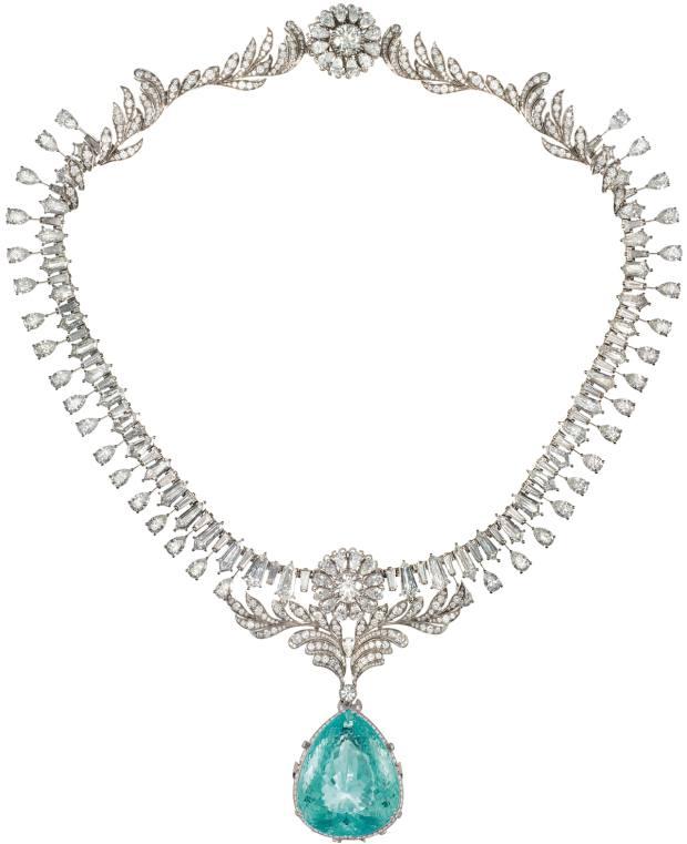 Dolce & Gabbana Alta Gioielleria: Oceanina Paraíba tourmaline and diamond necklace, POA