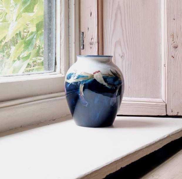 c1920 Plum vase