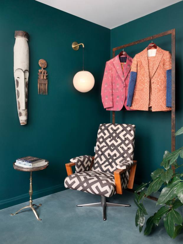 Ashby designed Casely-Hayford, her fashion-designer husband Charlie and late father-in-law Joe's Marylebone store