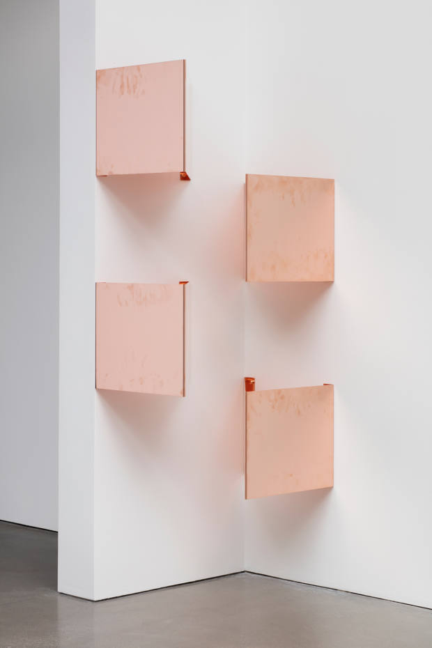 A number of Beshty copper pieces will be on show in Brussels, including a homage to Donald Judd