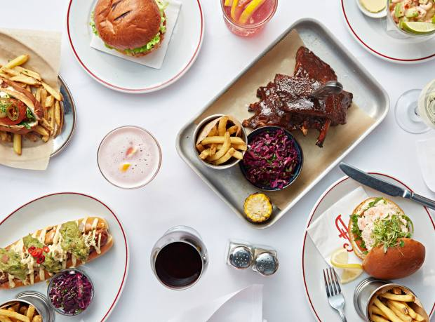 """Main courses will include Joe Allen classics such as fish cake with spinach and hollandaise, a bowl of vegetable chilli and the not-so-secret """"off-the-menu"""" cheeseburger"""