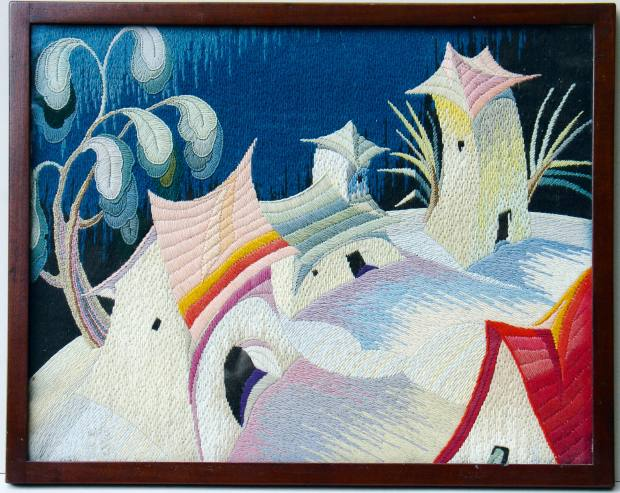 Painting in Wool, c1927, by Marian Stoll, bought by collector Gary Kemp for £8,000