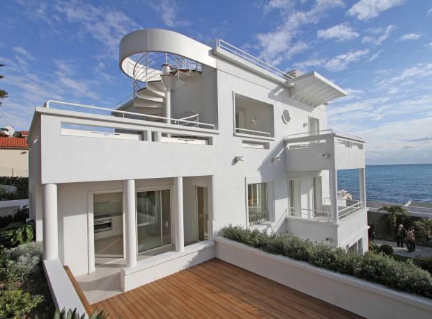A five-bedroom renovated art-deco villa on Cap d'Antibes, €8.5m through Knight Frank