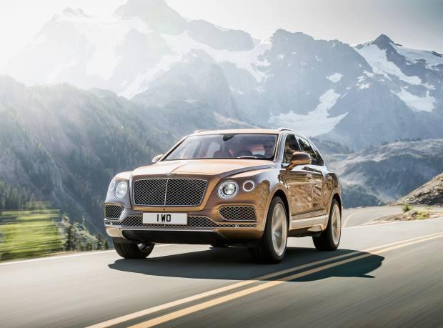Bentley Bentayga, from £160,200