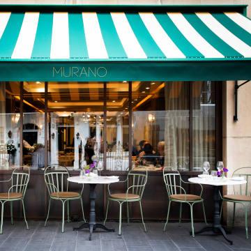 Angela Hartnett's restaurant Murano in London's Mayfair