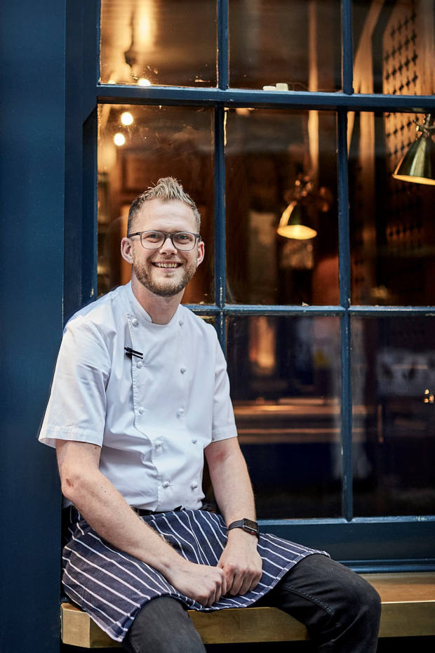 Chef Luke Robinson of London's Evelyn's Table will create a gourmet experience