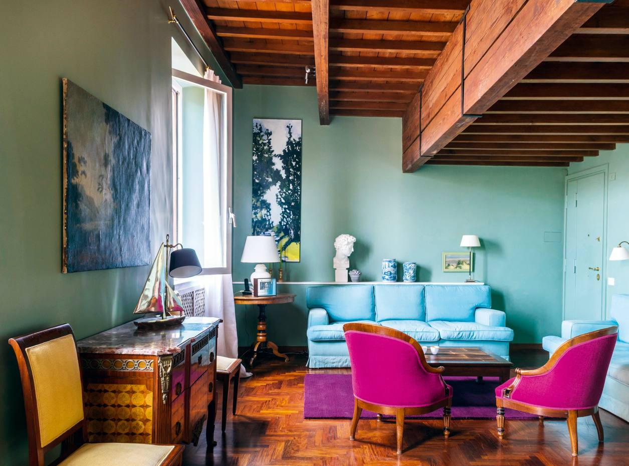 A cosy Trastevere loft in Rome, from €264