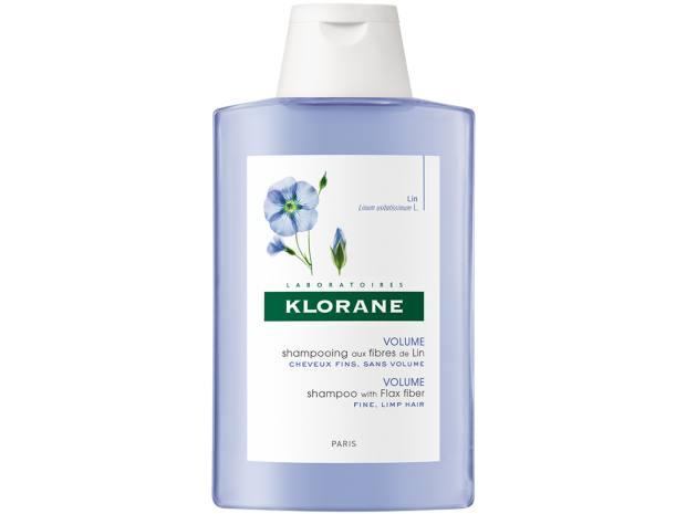 Klorane Flax Fibre Shampoo, £8, escensual.com