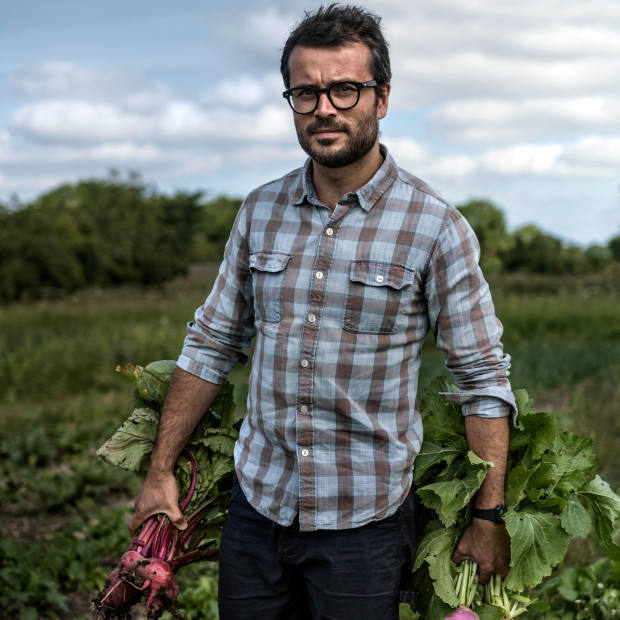 Copenhagen chef Christian F Puglisi will serve an eight-course dinner at Roganic on January 18