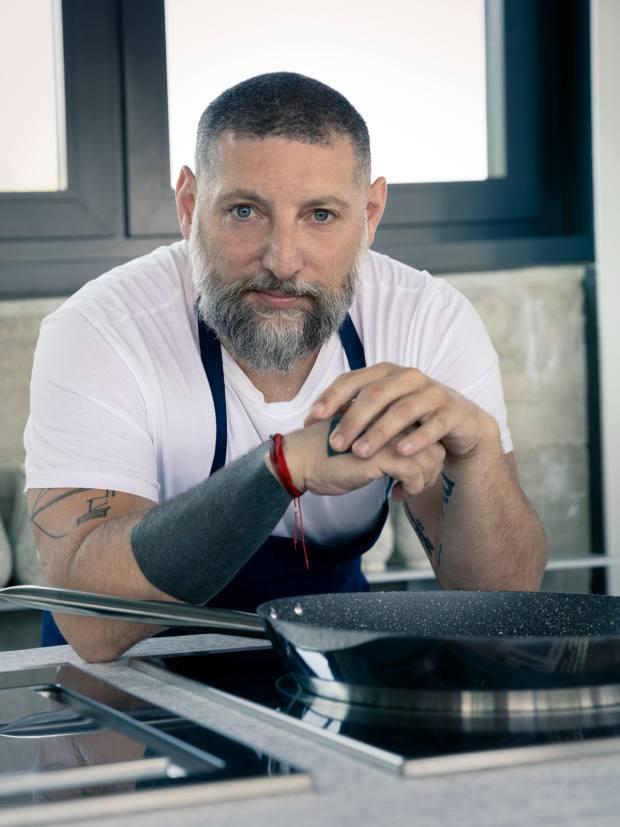 Assif Granit, chef patron of Coal Office restaurant, King's Cross