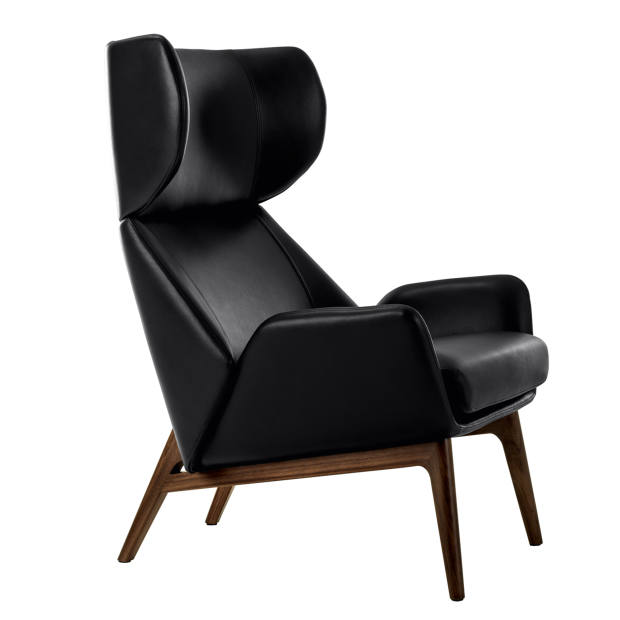 Fendi Casa walnut and leather Hermann armchair, from $10,530