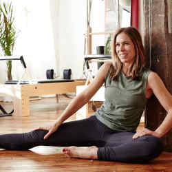 The Zalla Pilates studio in New York