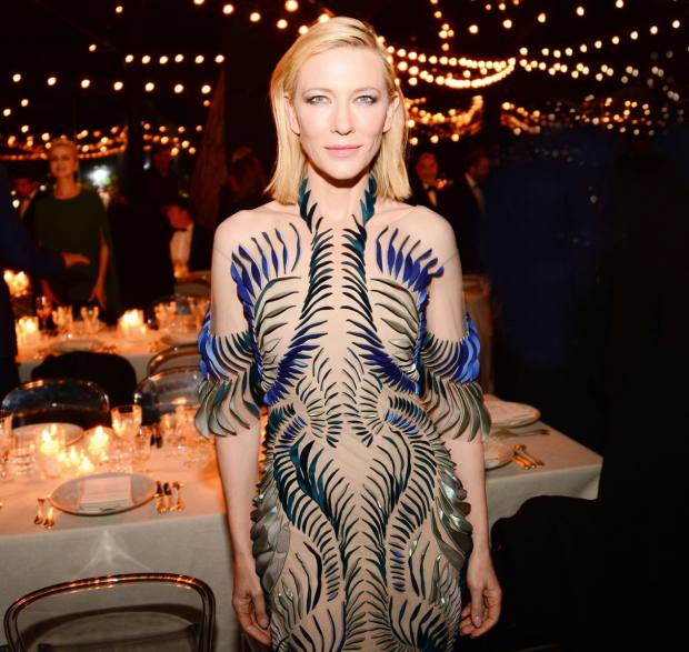 Cate Blanchett isanother of the designer's admirers