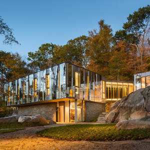Pound Ridge House in New York state, by KieranTimberlake; similar projects, price on request