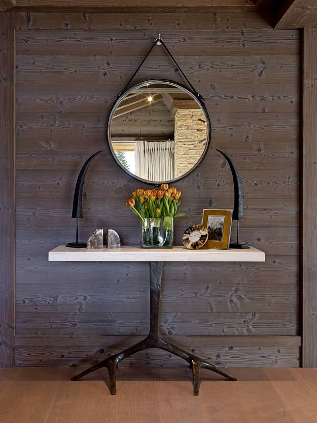 Morpheus London bronze and gesso console at the Six Senses Residences Courchevel, £2,585